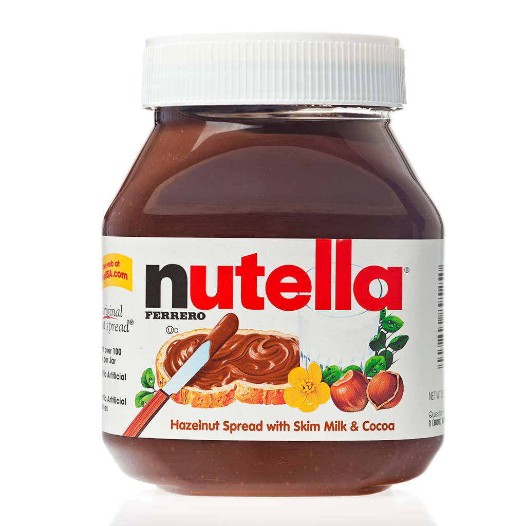 You can send your friends messages on jars of nutella - Lampe pot de nutella ...