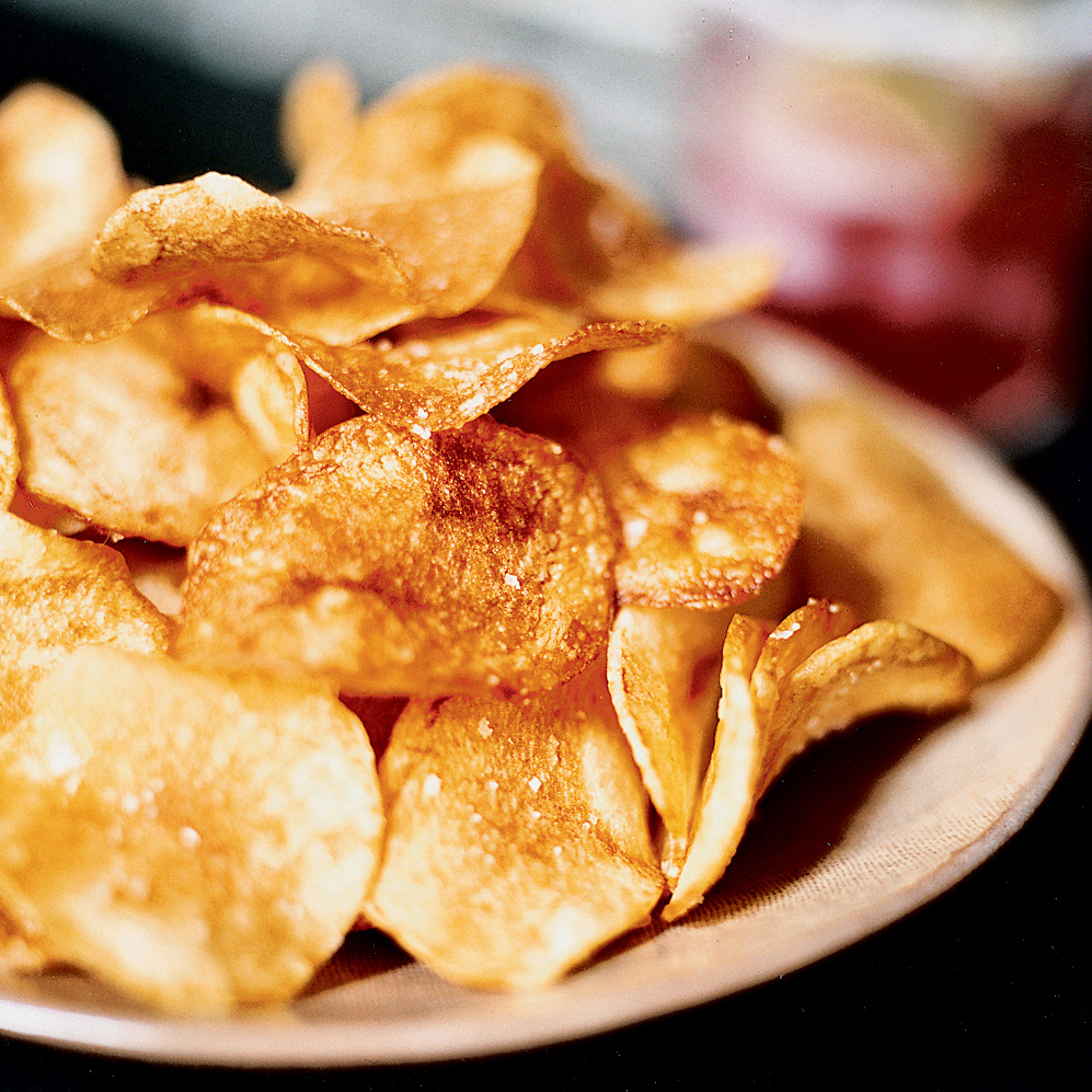 Idaho Potato Chips Recipe - Russ Pillar