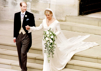 Prince Edward and Sophie Rhys-Jones, 1999