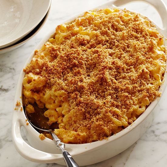 Macaroni and Cheese with Buttery Crumbs Recipe - Grace ...