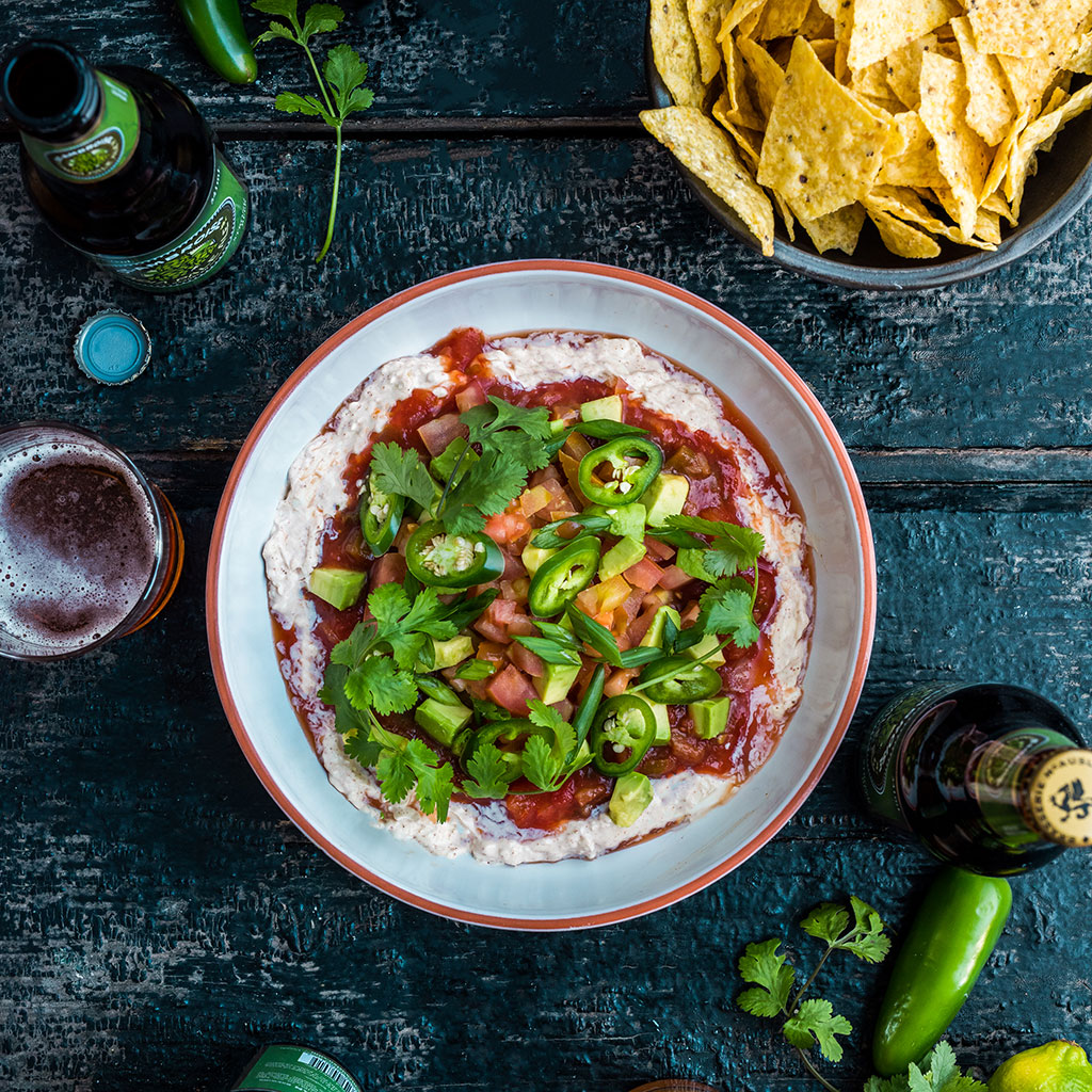 Bring On the Heat: Smoked Cheddar Nacho Dip Loaded with Jalapeños
