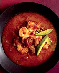 Smoky Shrimp-and-Chorizo Soup