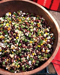 Black Bean-and-Quinoa Salad