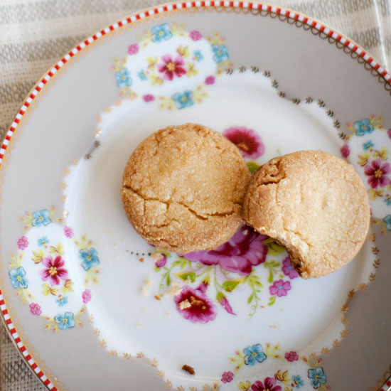 Double-Ginger Sugar Cookies