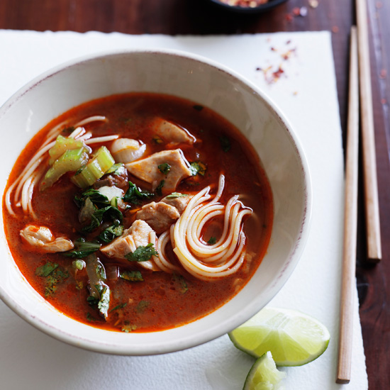 Asian recipes that use chicken broth for