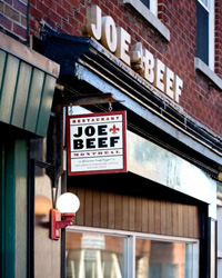 Montreal Guide: Joe Beef