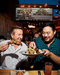 Daniel Boulud and David Chang at Toronto's Grand Electric