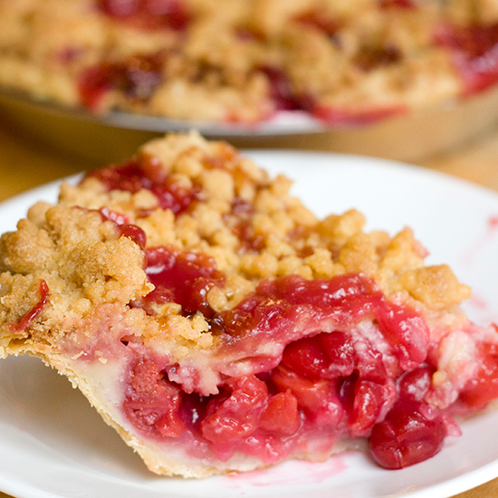 Cherry Crumb Pie; Grand Traverse Pie Company