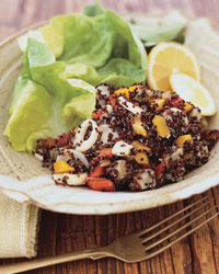 Quinoa, Artichoke and Hearts of Palm Salad