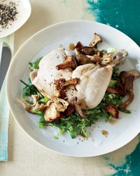 David Bouley's Pot-Roasted Chicken