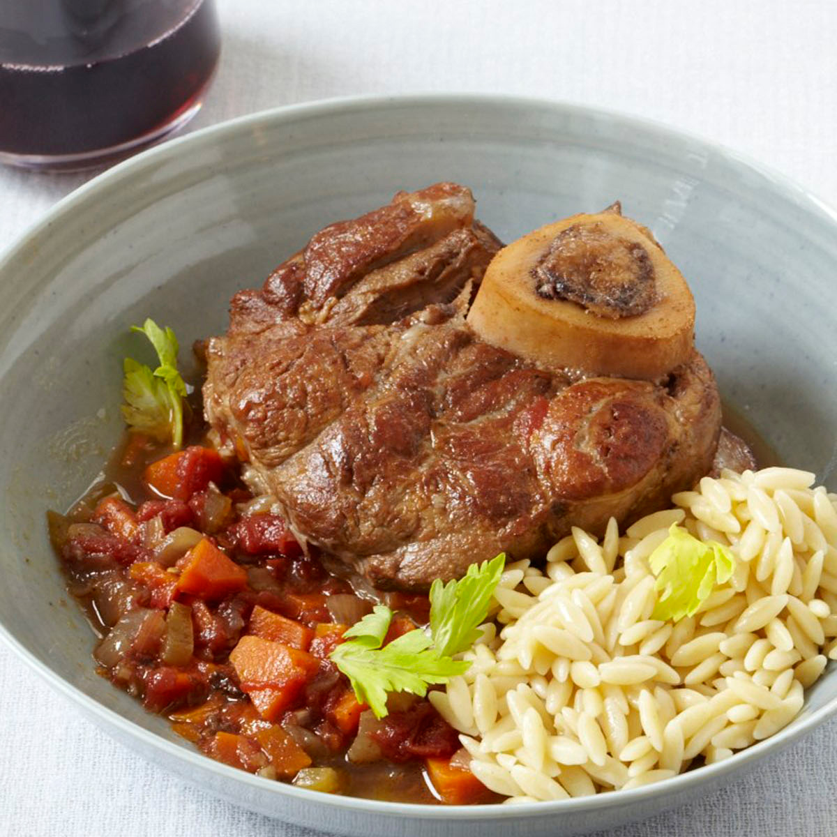 Osso Buco with Red Wine RecipeMichele Scicolone Food  Wine
