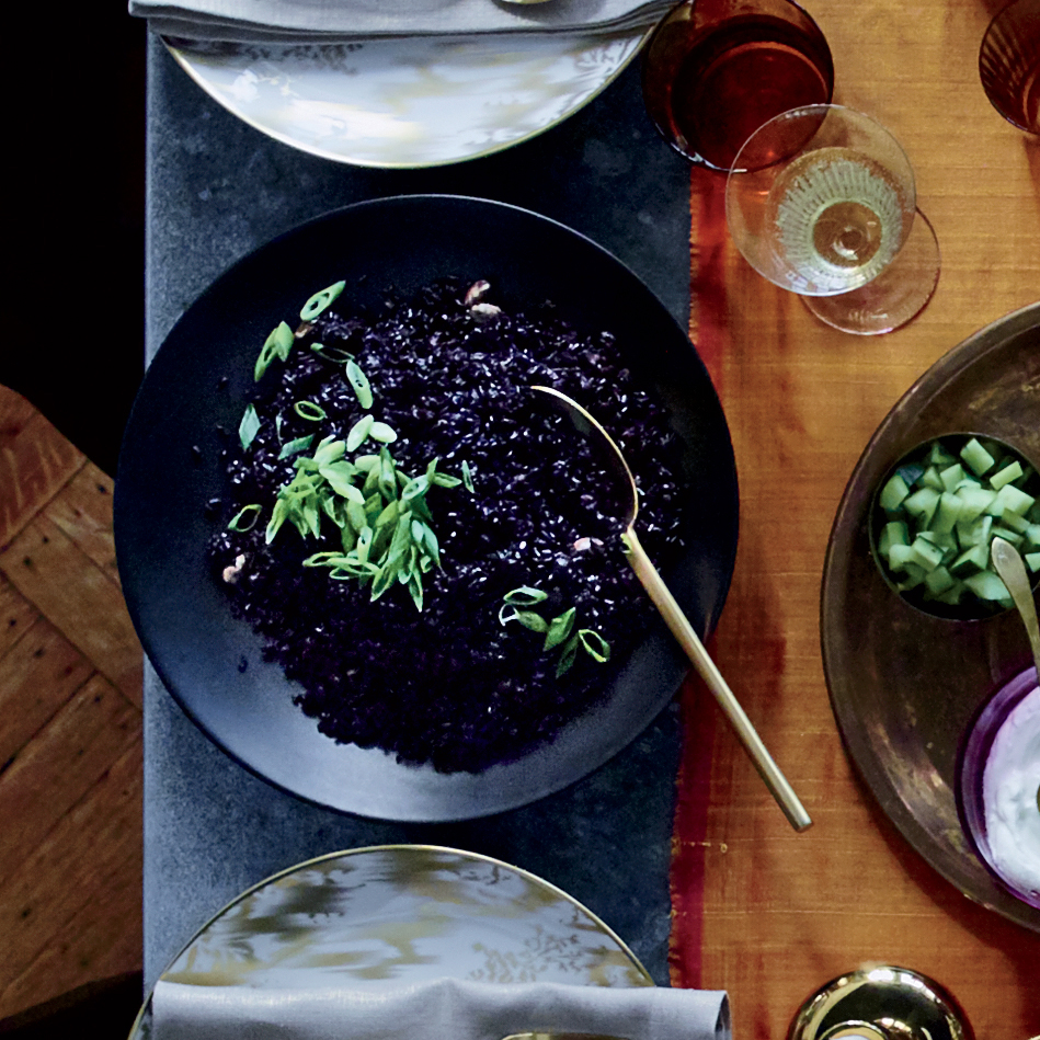 Forbidden Black Rice With Ginger And Cardamom Recipe