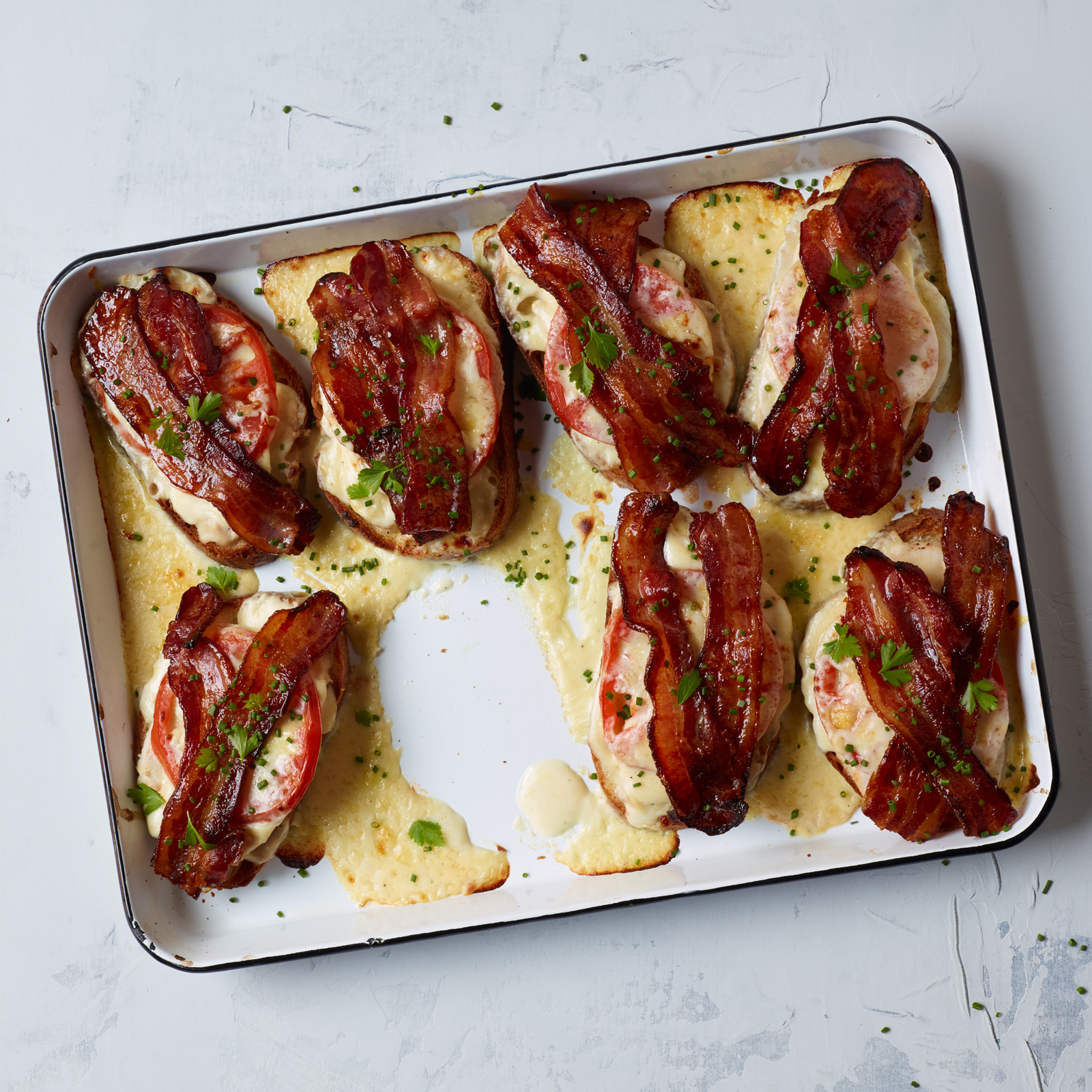Kentucky Hot Brown Recipe - Bobby Flay