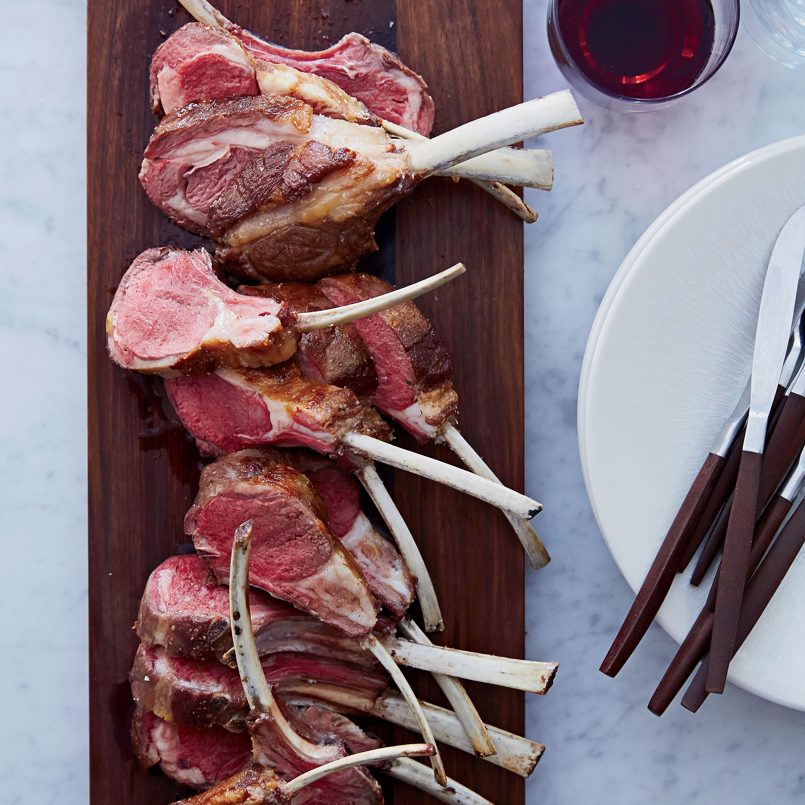 Salt-Crusted Rack of Lamb Recipe - Mourad Lahlou | Food & Wine