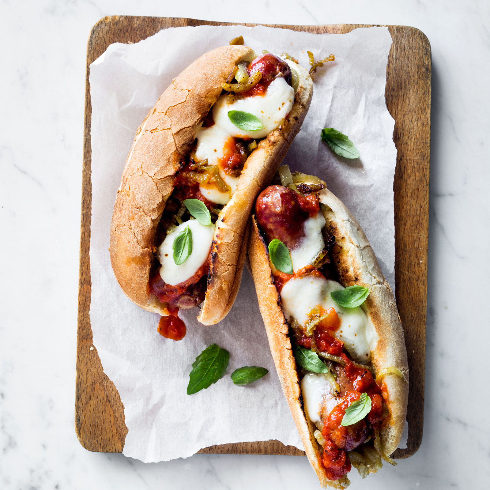 Sausage And Fennel Parm Heroes Recipe Kay Chun Food Amp Wine