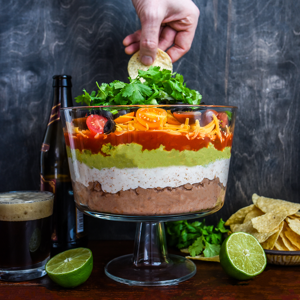 How to Make the Best 7-Layer Dip (Without a Recipe)