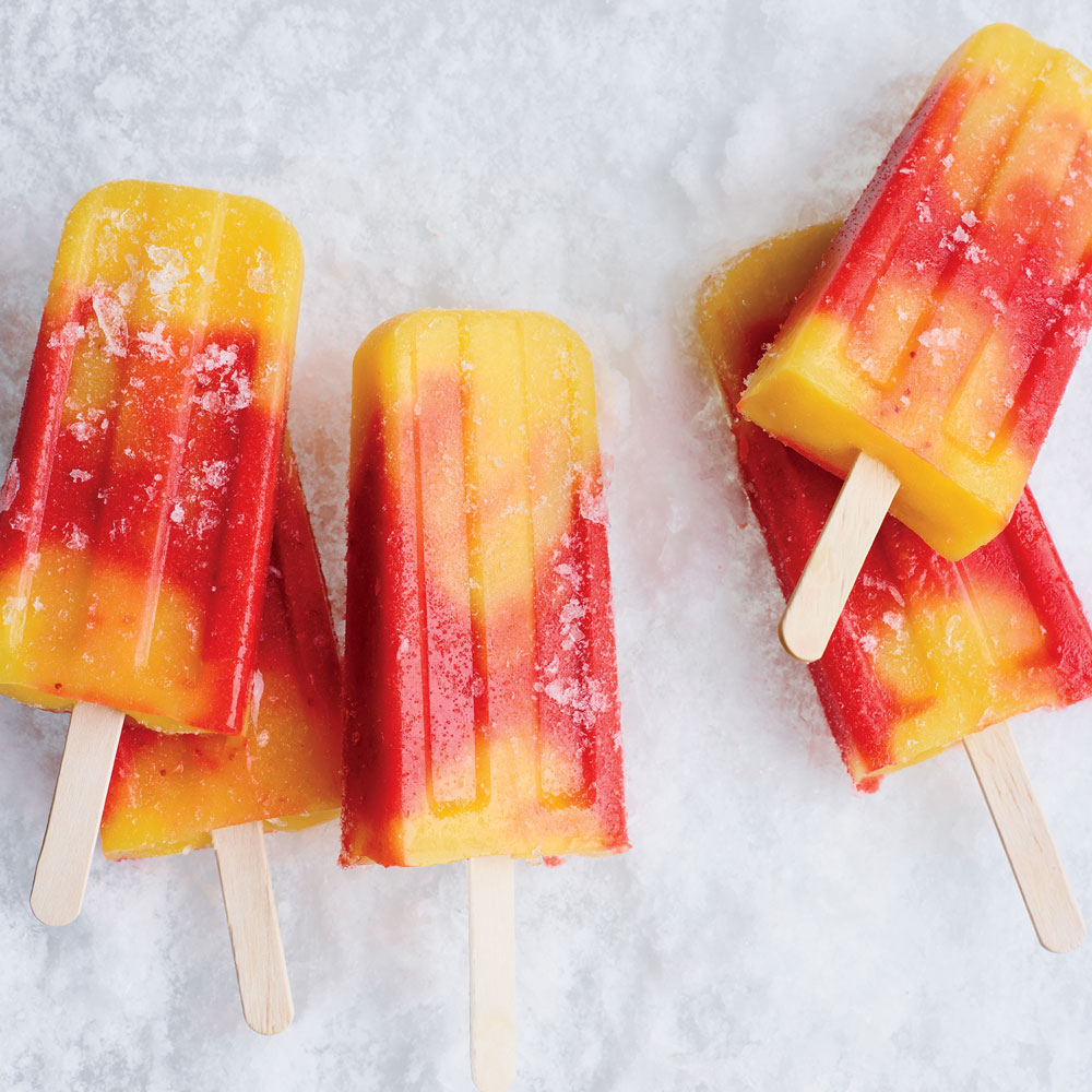 Day 6: Strawberry-Mango Paletas