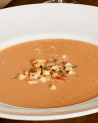 Smoked Salmon and Celery Root Bisque Recipe -Michael Allemeier | Food ...