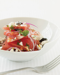 Watermelon Salad With Feta.