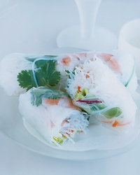 Shrimp and Vegetable Summer Rolls
