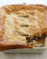 Turkey and Mushroom Pot Pie