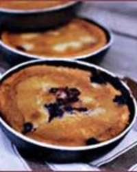 Almond Berry Cakes