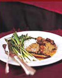 Wine-Braised Turkey with Porcini