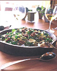 Endive-Watercress Salad with Candied Walnuts