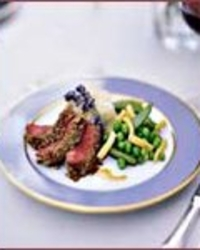 Sunflower Seed-Crusted Lamb Loin