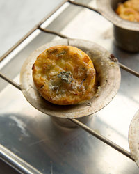 Cheshire Yorkshire Puddings with Sage and Black Pepper