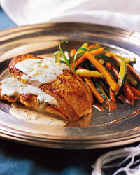 Sautéed Chicken Breasts with Tarragon Cream Sauce