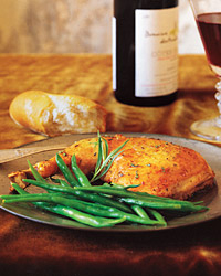 Chicken with Wine and Tarragon