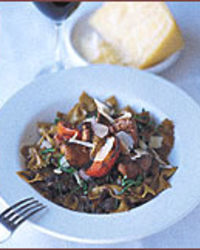 Farfalle with Wild Mushrooms