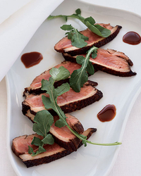 Chilled Duck with Zinfandel Sauce