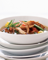 Summer Vegetable Stew with Braised Rabbit