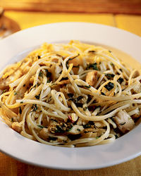 Midnight Pasta with Tuna, Pancetta and Spinach Recipe -Steven Wagner ...
