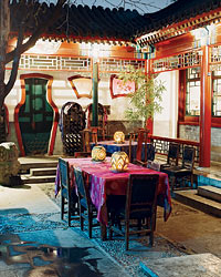 """Alessia says Red Capital hotel and restaurant in Beijing """"feels like China in the 1950s."""""""