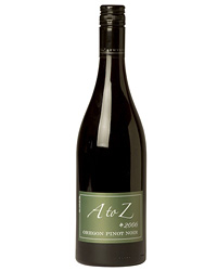 2006 A to Z Wineworks Oregon Pinot Noir.