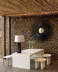 Singita Game Reserve interior