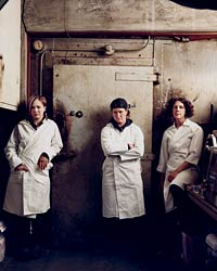 Tia Harrison, Angela Wilson and Melanie Eisemann of Avedano's in San Francisco are reviving traditional butchery.