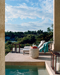The Viceroy Mayakoba was designed by L.A.'s famed Kelly Wearstler.