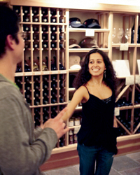 Ceja Vineyards holds free salsa-dancing evenings at its downtown Napa tasting room.