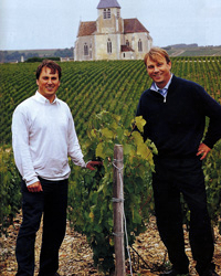 Stephane and Julien Brocard. Photo courtesy of Brocard.