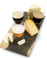 Beer and cheese.
