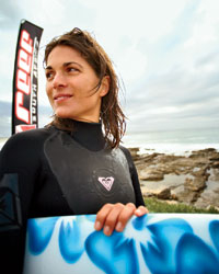 A Vintners Surf Classic competitor