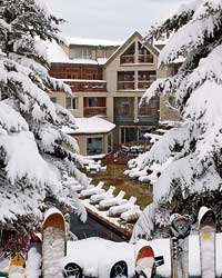 At Aspen's newly renovated The Little Nell hotel, frozen skiers thaw themselves with drinks like the Snow White (above)—double espresso and steamed milk spiked with white-chocolate Godiva liqueur and Frangelico—while they wait to eat chef Ryan Hardy's superb farm-to-table cooking at Montagna restaurant.
