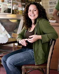 The girl at Girl & 