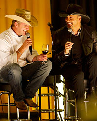 Chef Tim Love and musical legend Tim McGraw.