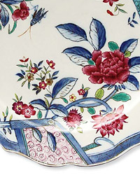 """Interior designer Alberto Pinto might customize a china pattern like his """"Compagnie des Indes."""""""