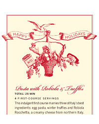 Printable Gift Tags and Recipe Cards